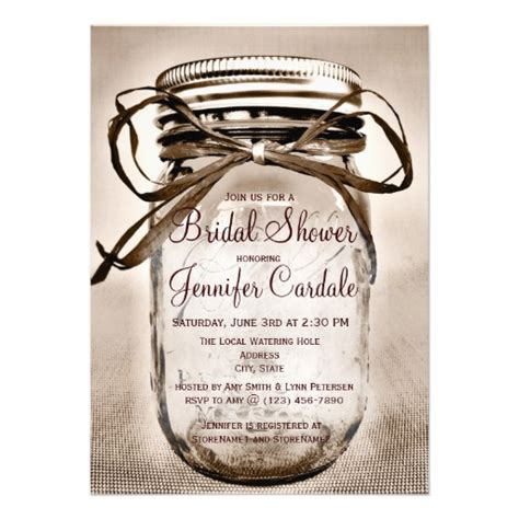 country rustic bridal shower invitations bridal shower invitations free country bridal shower