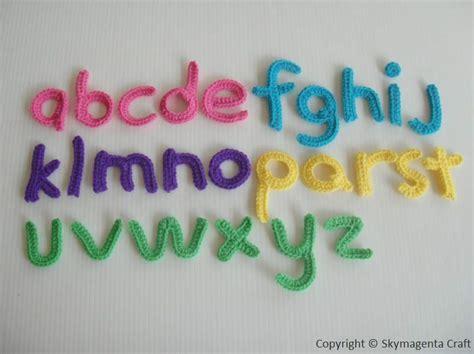 pattern crochet alphabet alphabet crochet pattern crochet patterns