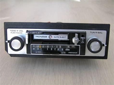 cassette car radio vintage pioneer kp 2500a car stereo cassette player am fm