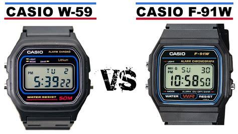 casio w59 casio f 91w vs casio w 59