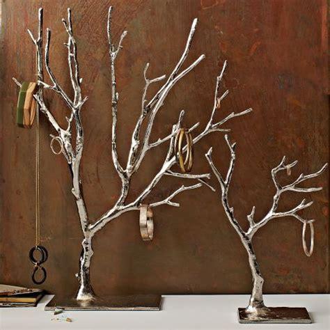 West Elm Tree - jewelry tree metal jewelry and west elm on