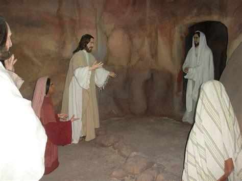 imagenes de jesus llorando por lazaro parroquia cristo redentor en ludue 241 a rosario 5cuara