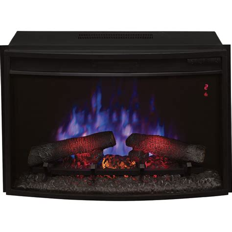 Northern Tool Fireplace Inserts by Chimney Free Spectrafire Plus Curved Electric Fireplace