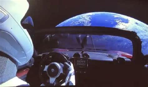elon musk car elon musk s car takes wrong turn into space india com