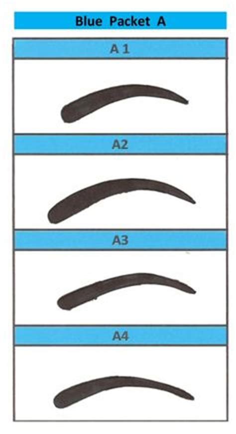 printable eyebrow shaping stencils free printable eyebrow stencils for you to print right now