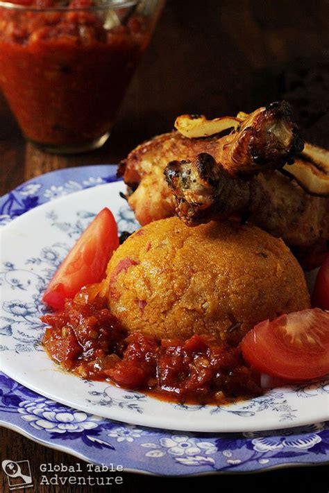 tomato cornmeal cakes djenkoume global table adventure