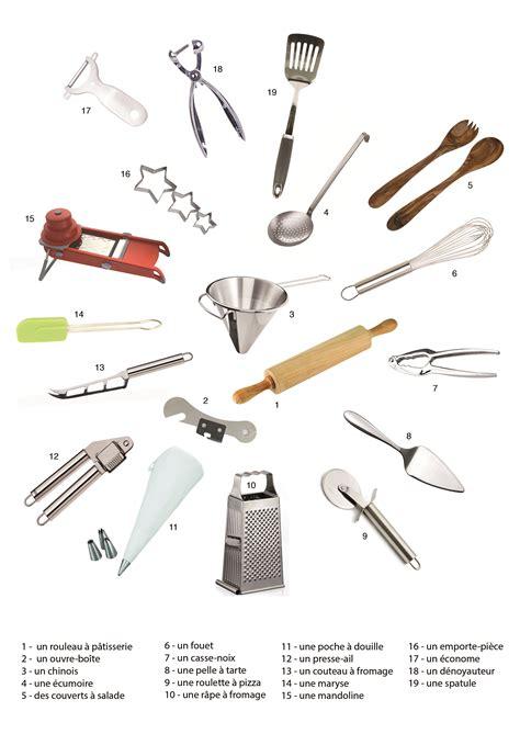 vocabulaire ustensiles de cuisine imagier lcff ustensiles de cuisine lcff