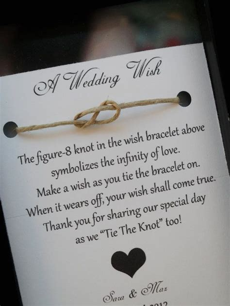 Wedding Wishes Tying The Knot by 44 Best Su Wedding Favors Images On