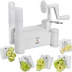 brieftons 5 blade spiralizer what s about it