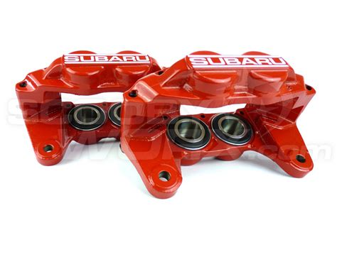 subaru calipers subaru 4 pot front reconditioned calipers smooth later models