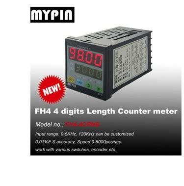 90 260v Ac Dc Preset 4 Digital Counter Length Meter Relay Output mypin 1 8 din digital preset counter model fh8 6crna buy preset counter preset counter preset