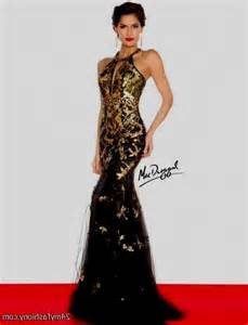 Halter black gold backless sexy fashionable side split sequin crystal