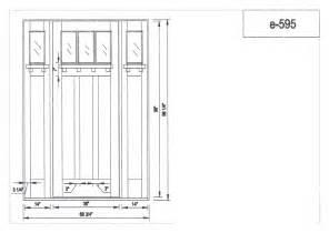 Exterior Door Height Craftsman Doors Exterior Mahogany Craftsman Doors 8