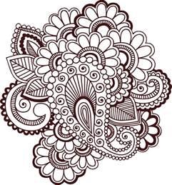 henna templates clipart henna