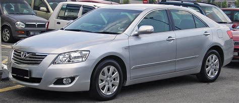 Toyota Camry Generations File Toyota Camry Sixth Generation Front Serdang Jpg