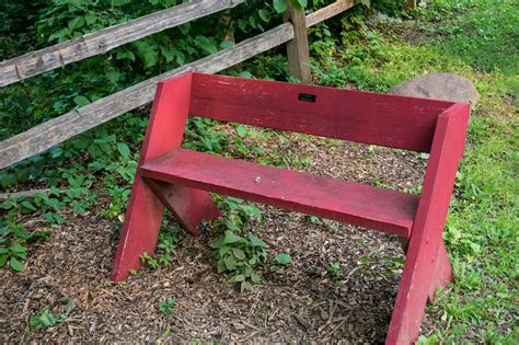 leopold benches crestwood outdoor education blog