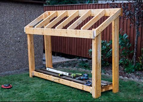 Free Plans For A Wood Shed