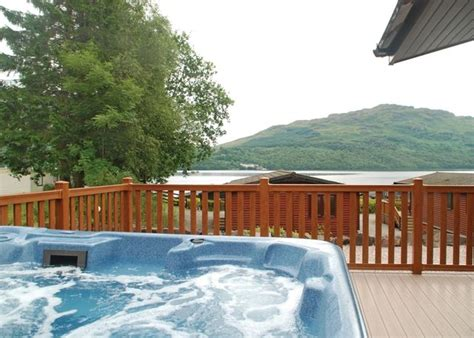 Log Cabins With Tubs In Loch Lomond by Luxury Lodges With Tubs Loch Lomond To Rent
