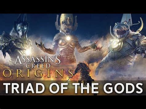 Origins Set Trial taking on all 3 gods assassin s creed origins trials