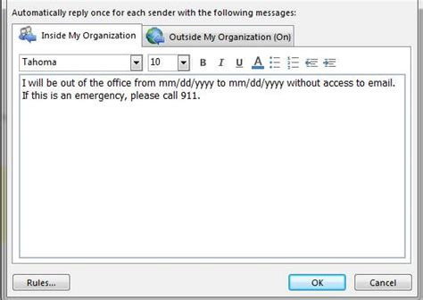 ooo message template 10 hilarious out of office messages fm