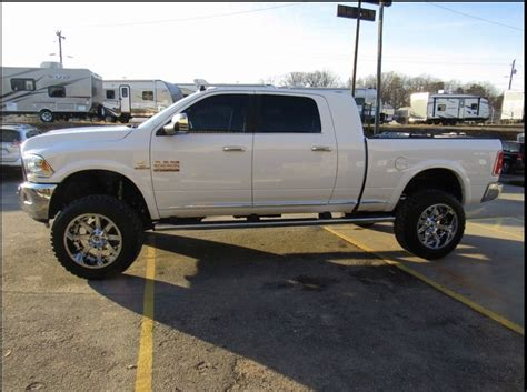 cummins truck white 2016 ram 2500 white lifted mega cab cummins trucks i