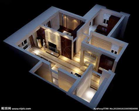 3d home design studio free download 轴测图设计图 3d作品 3d设计 设计图库 昵图网nipic com