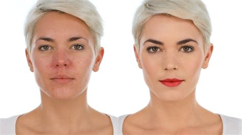 a professional makeup artist to camouflage a scalp scar perfect makeup camouflage for rosacea red or ruddy skin