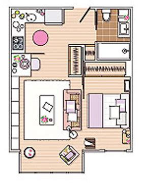 apartment layout ideas how to design 40 square meter apartment comfy digsdigs