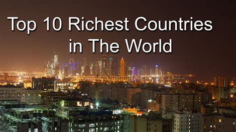 top 10 richest countries in the world 2018
