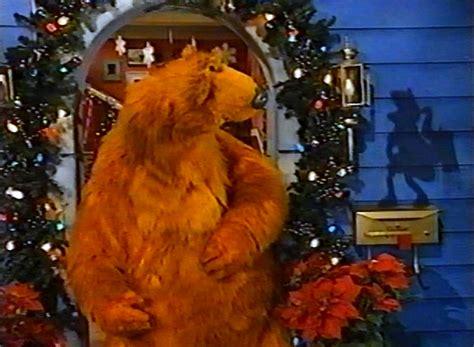 bear inthe big blue house christmas it s kwanzaa time muppet wiki
