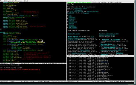 linux console file emacs linux console png