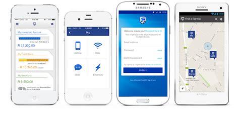 bank app phone banking app standard bank