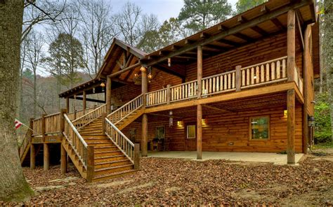 riverfront log cabins homes for sale