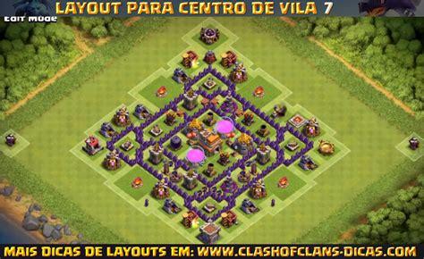 layout push cv 7 layouts de cv7 para clash of clans clash of clans dicas