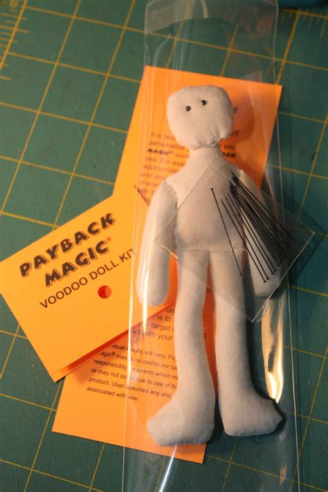 How To Make A Paper Voodoo Doll - voodoo doll chewing with the paper chipmunk