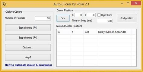 Auto Speed Clicker by Autoclicker Download Sourceforge Net