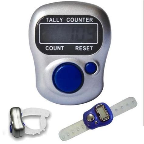 Diskon Tally Counter Digital Finger 5 digit digital finger tally counter for jaap tashbi stock counting