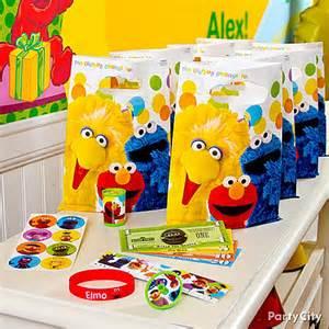 Sesame Favor Ideas by Elmo Birthday Ideas City