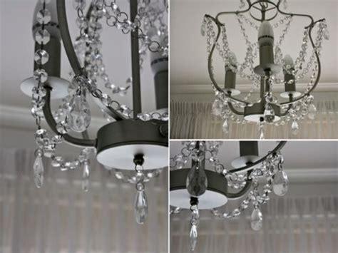 Ikea Kristaller Chandelier New 3 Armed Silver Color Glass Kristaller Chandelier