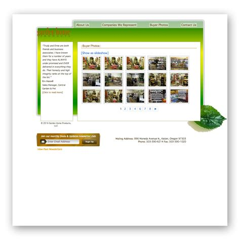 garden home products everbearing services