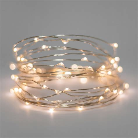 battery powered white string lights battery operated lights 30 warm white battery operated