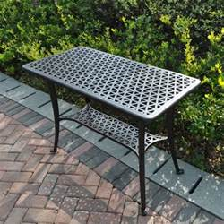 metal patio side table bbq metal garden side table lazy susan