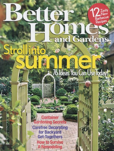 Better Home And Gardens by Print Better Homes And Gardens Tamaramedia