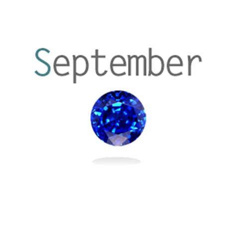 september birthstone sapphire glockets glass memory