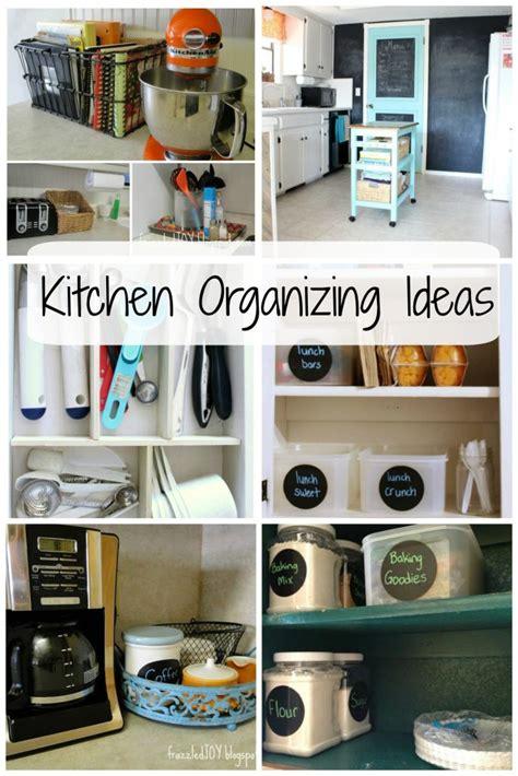 kitchen organization up frazzled