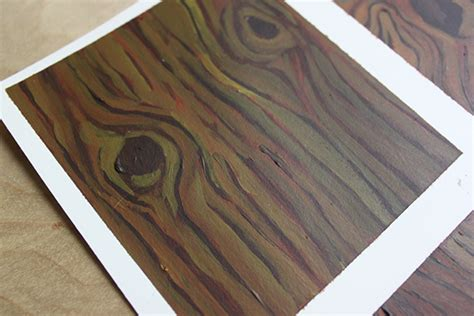 learn how to paint wood grain in just 3 steps