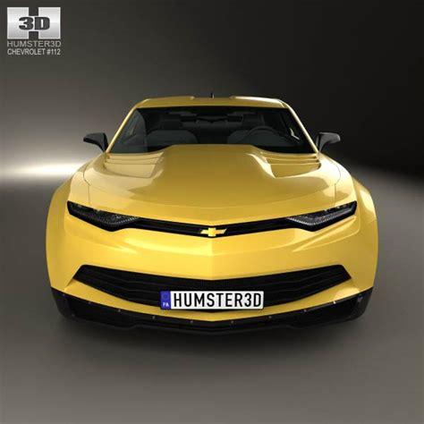2014 Chevrolet Camaro Concept by Chevrolet Camaro Bumblebee 2014 3d Model Humster3d