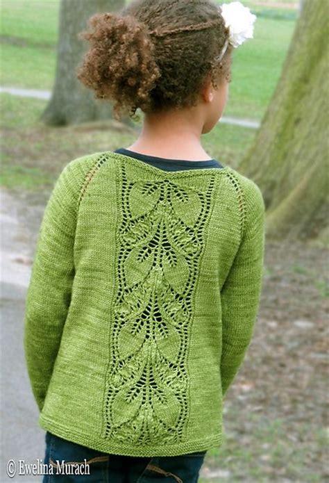 leaf pattern baby cardigan leaf lace cardigan kids pattern by ewelina murach