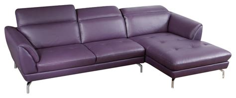 purple sectional sofa chaise orchard sectional sofa purple leather with right chaise