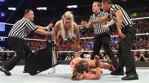charlotte flair vs rousey professional wrestling is back steve austin on ronda